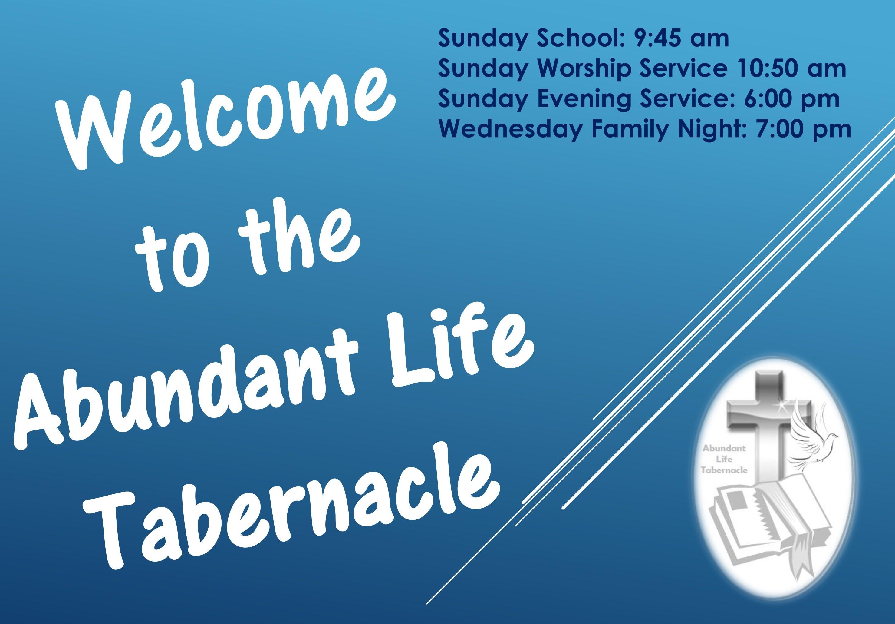 Abundant Life Tabernacle – Full Gospel church in Hampton